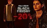 Pull & Bear akcija Black Friday