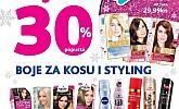 Kozmo srijeda -30% popusta na boje za kosu i styling