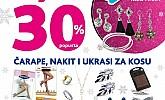 Kozmo srijeda -30% čarape, nakit i ukrasi