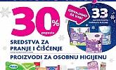 Kozmo vikend akcija -30% čišćenje i osobna higijena