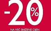Pittarosso akcija -20% popusta na već sniženo