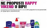 Bipa vikend akcija -30% popusta proizvodi za njegu tijela