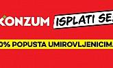 Konzum akcija umirovljenici popust ožujak 2017