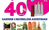Kozmo srijeda -40% Garnier i Maybelline asortiman