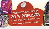 Muller kupon -20% popusta na školske torbe