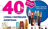 Kozmo vikend akcija -40% L'oreal i Maybelline