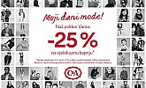 C&A popust -25% na sve svibanj 2017