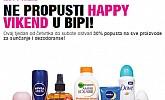 Bipa vikend akcija -30% proizvodi za sunčanje i dezodoranse