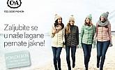 C&A katalog Lagane pernate jakne