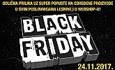 Lesnina akcija Black Friday