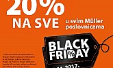 Muller akcija  Black Friday