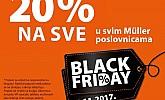 Muller akcija  Black Friday