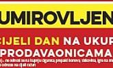 Konzum akcija umirovljenici popust prosinac 2017