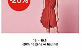 C&A akcija -20% na ženske haljine