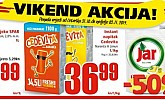 Interspar vikend akcija do 3.11.