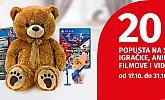 Muller akcija -20% na igračke, video igrice, animirane filmove