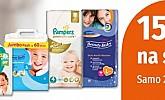 Muller akcija -15% na sve baby pelene