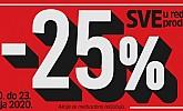 Mana vikend akcija -25%  popusta