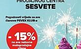 Pevex katalog Sesvete rođendan