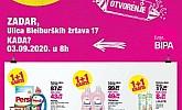 Bipa katalog Zadar otvorenje