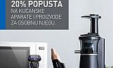 Emmezeta webshop akcija 20% na Panasonic