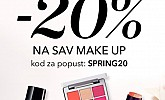 Douglas webshop akcija 20% na sav make up