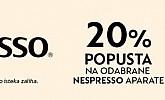 Elipso webshop akcija 20% na Nespresso