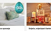 Emmezeta webshop akcija 30% na jastuke i svijeće