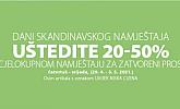 Jysk webshop akcija Do 50% na namještaj