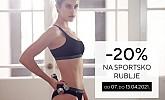 Lisca webshop akcija 20% na sportsko rublje