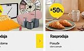 Emmezeta webshop akcija Rasprodaja uređenje doma i posuđe