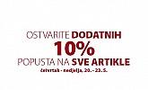 Jysk webshop akcija dodatnih 10% na sve
