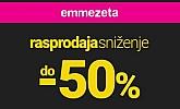 Emmezeta webshop akcija Rasprodaja i sniženje do 50%