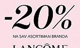 Douglas webshop akcija 20% na Lancome