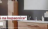 Lesnina webshop akcija 20% na kupaonice