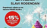Pevex katalog Žitnjak rođendan do 5.9.