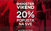 Shooster webshop akcija za vikend do 19.09.