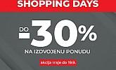 Sport Vision webshop akcija Shopping days do 19.09.