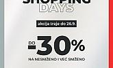 Sport Vision webshop akcija Shopping days do 26.09.