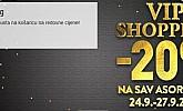 Topshop webshop akcija za vikend do 27.09.