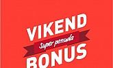Intersport webshop akcija Vikend bonus do 04.10.