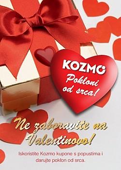 Kozmo kuponi Valentinovo