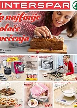 Interspar katalog Za najfinije kolače i pečenja