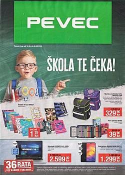 Pevec katalog Škola 2019