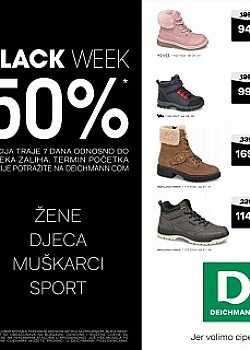 Deichmann katalog Black Week
