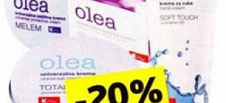 Konzum popust 20% Olea kreme