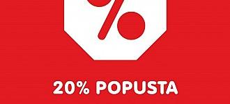 NKD akcija -20% odjeća i modni dodatci