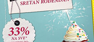 Takko rođendanski popust -33%