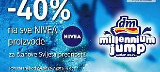 DM akcija 40% popusta na sve Nivea proizvode