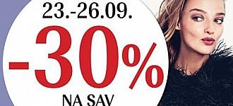 Douglas akcija -30% na sav asortiman
